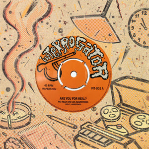 "Pat Kelly, Los Aggrotones - Are You For Real? / Atlantico 7"" EP"