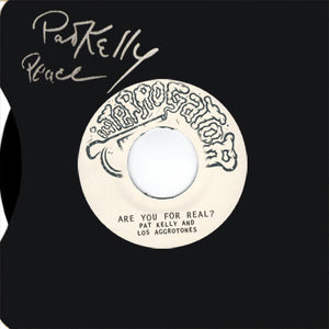 "Patrick Kelly, Los Aggrotones - Are You For Real? / Atlantico 7"" EP - TEST PRESS"