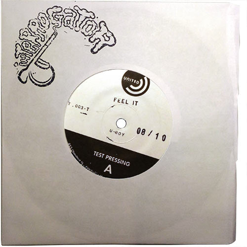 U-Roy, Anla Samuels, Dizzy Minott - Feel It / Zylene Strut - TEST PRESS