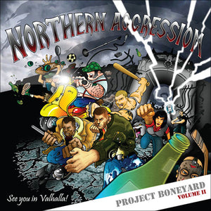 Various Artists - NORTHERN AGGRESSION - Project Boneyard II CD