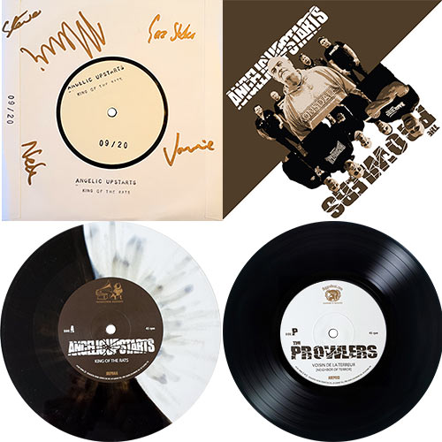 Angelic Upstarts / The Prowlers - split EP - BUNDLE