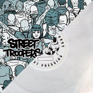 Street Troopers / Bromure - split EP - TEST PRESS