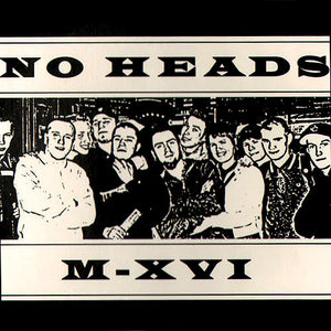 No Heads - M-XVI CD