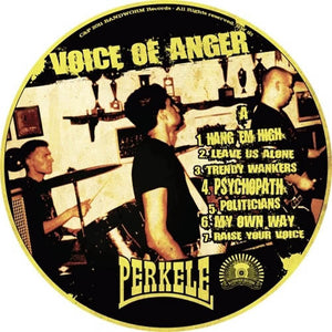 "Perkele - Voice of Anger 12"" LP (picture disk)"