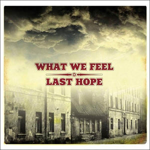 What We Feel / Last Hope - split CD