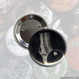 "The Oppressed - Boot 1"" pin"