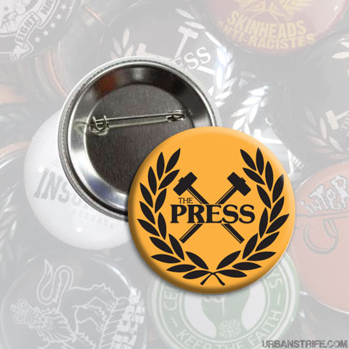 The Press - Logo orange 1