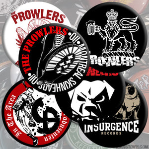 The Prowlers - Pin Set