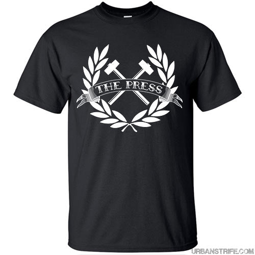 The Press - Crossed Hammers Logo T-Shirt