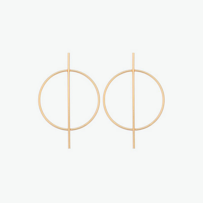 Bauha Hoop Earrings