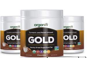 Organifi Gold Chocolate 3-Pack - LIMITED TIME