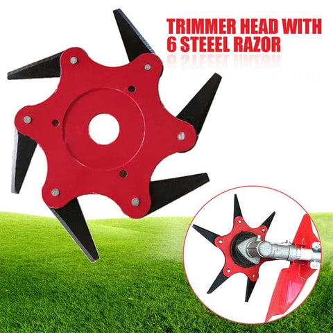 6 Steel Razor Trimmer Head