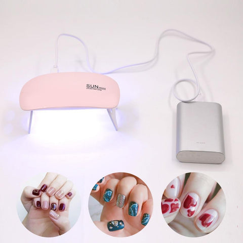 Portable LED Nail Dryer