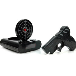 Laser Shooting Gun Alarm Clock