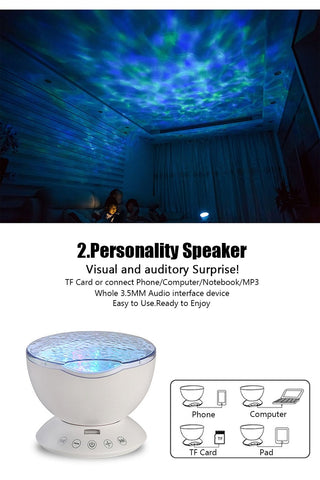 Ocean Night Light lamp Projector