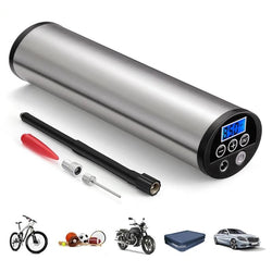 Rechargeable Bicycle Pump With LCD Display