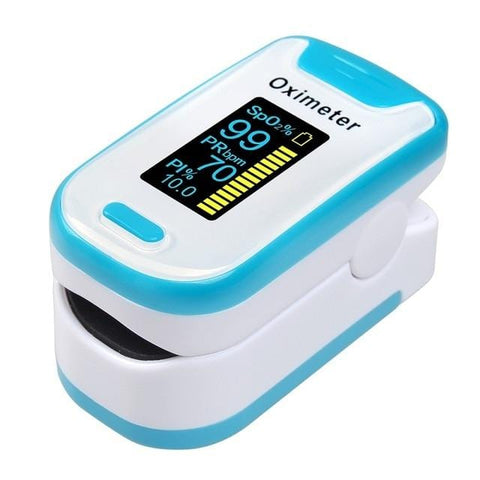 Clear Read  Fingertip Pulse Oximeter Blood Oxygen Saturation Monitor