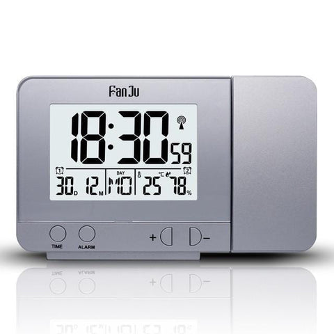 Multi-functional Led Projection Digital Alarm Clock