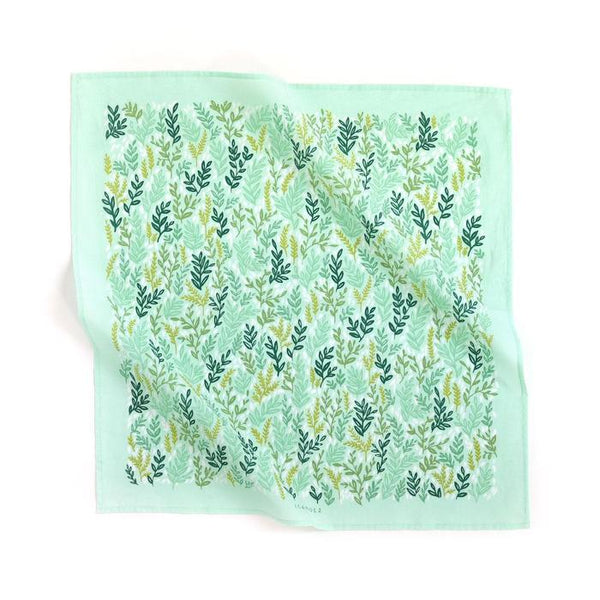 1canoe2 Mint Meadow Bandana - Handkerchief - Neckerchief - Women's Accessory - Women's Clothing Store - Ladies Boutique - O KOO RAN - Big Bear Lake California