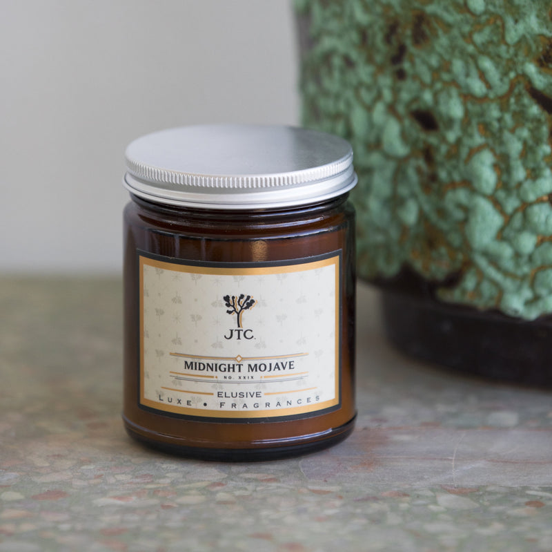 Joshua Tree Candle Co. Midnight Mojave Candle - Soy Wax Candle - Women's Clothing Store - Women's Shoes - Shoe Store - Accessories - Home Decor - O KOO RAN - Big Bear Lake California