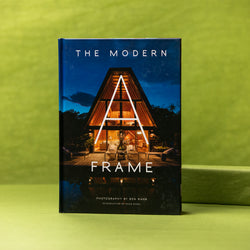 Gibbs Smith The Modern A-Frame Book - Architecture Book - Book About A-Frames -  Good Read - Book - Reading - Women's Clothing Store - Women's Accessories - Gift Store - Ladies Boutique - O KOO RAN - Big Bear Lake California