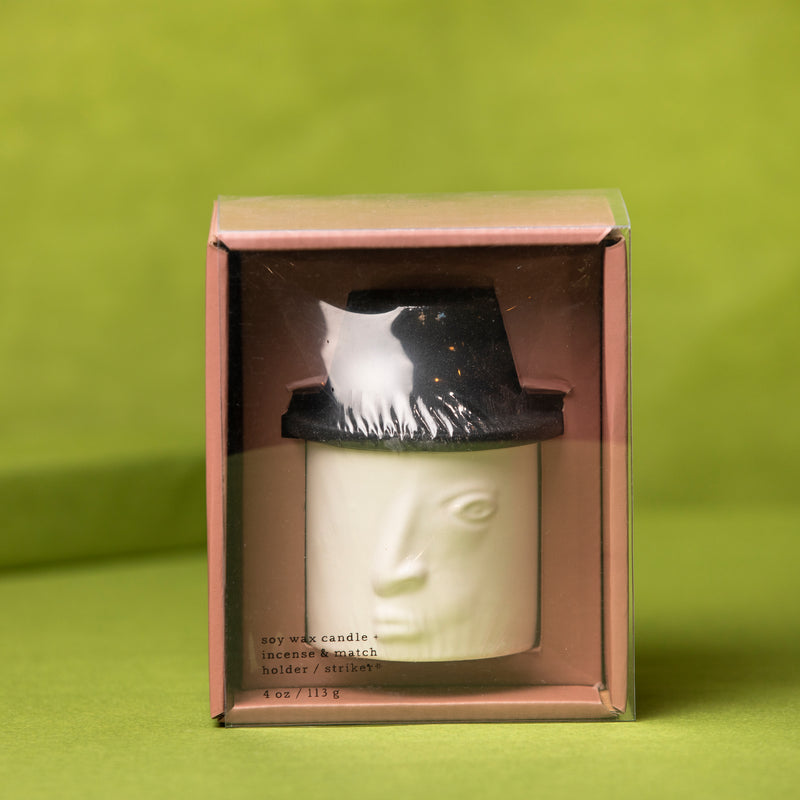 Paddywax Persona Candle - Ceramic Candle - Home Decor - Women's Clothing Store - Women's Shoes - Shoe Store - Accessories - O KOO RAN - Big Bear Lake California