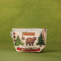 Cavallini Camping Pouch - Pouch - Gift - Women's Clothing Store - Women's Accessories - Ladies Boutique - O KOO RAN - Big Bear Lake California
