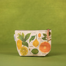 Cavallini Citrus Pouch - Pouch - Gift - Women's Clothing Store - Women's Accessories - Ladies Boutique - O KOO RAN - Big Bear Lake California