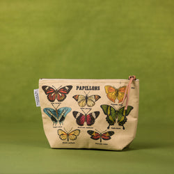 Cavallini Papillons Pouch - Pouch - Gift - Women's Clothing Store - Women's Accessories - Ladies Boutique - O KOO RAN - Big Bear Lake California