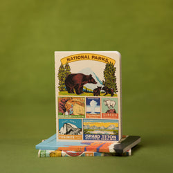 Cavallini National Parks Mini Notebook Set - Notebook Set - Gift - Women's Clothing Store - Women's Accessories - Ladies Boutique - O KOO RAN - Big Bear Lake California