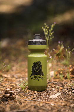 Big Bear Lake Purist Water Bottle Moss Green - Specialized Bottle - Hiking - Biking - Camping - Drink - Women's Clothing Store - O KOO RAN - Big Bear Lake California