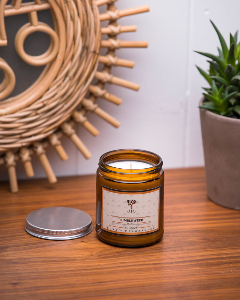 Joshua Tree Candle Co. Tumbleweed Candle - Soy Wax Candle - Women's Clothing Store - Women's Shoes - Shoe Store - Accessories - Home Decor - O KOO RAN - Big Bear Lake California  Edit alt text
