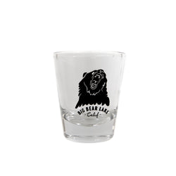Big Bear Lake Shot Glass - Glassware - Custom Logo - Souvenir - Women's Clothing Store - Boutique - O KOO RAN - Big Bear Lake California