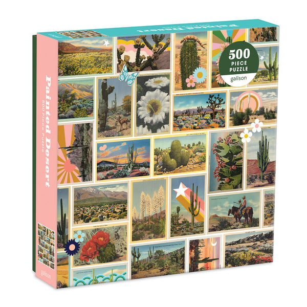 Painted Desert Puzzle - 500 Piece Puzzle - Puzzle - Game - Cabin Game - Gift Idea - Good Gift - Women's Clothing Store - Women's Accessories - Ladies Boutique - O KOO RAN - Big Bear Lake California