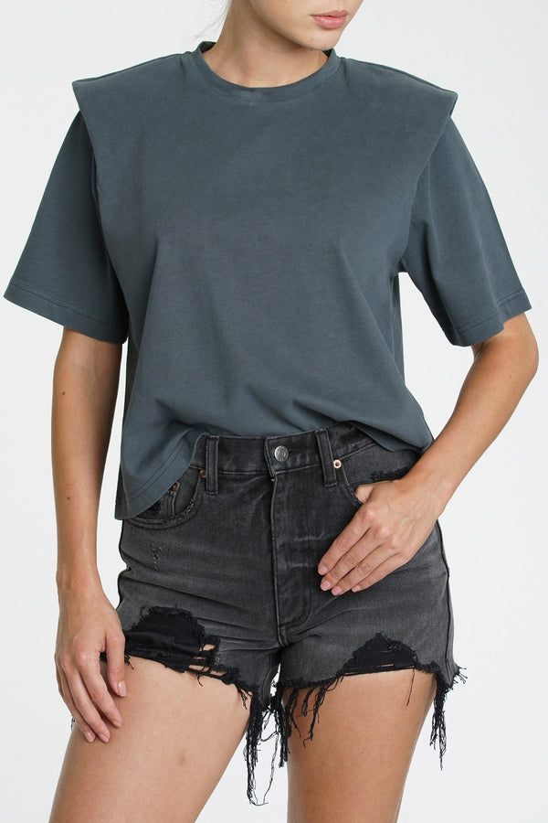 Brileigh Pleat Tee