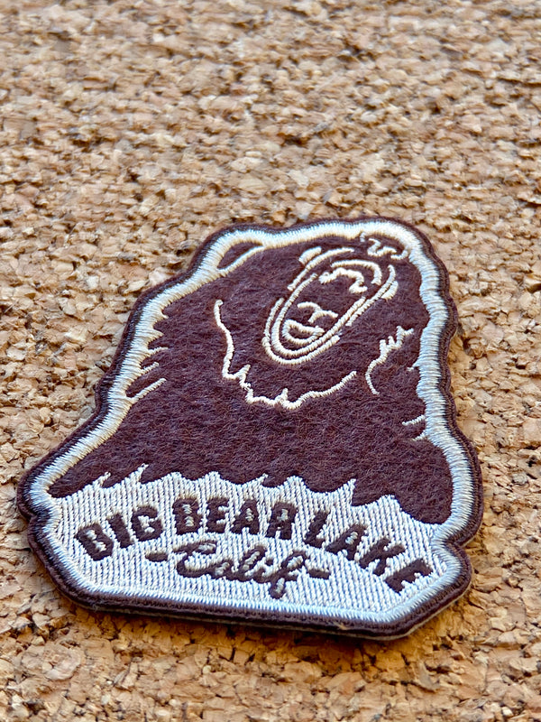 Big Bear Lake Felt Patch