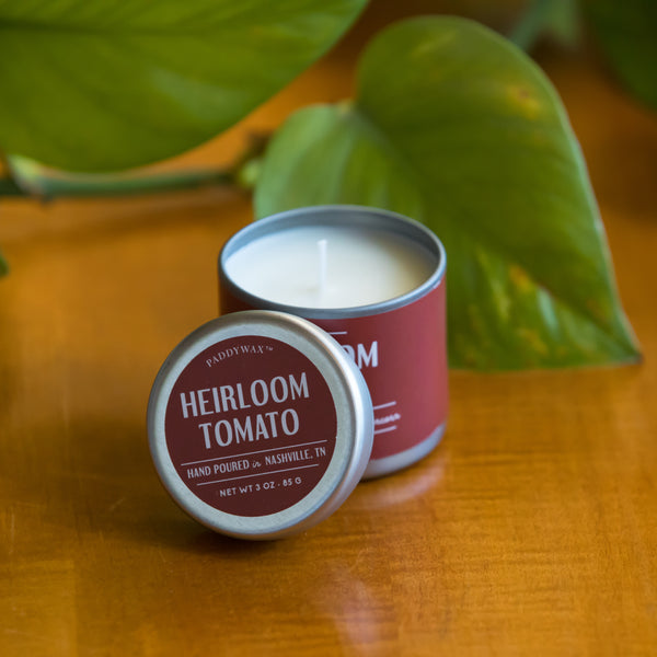 Heirloom Tomato Tin Candle