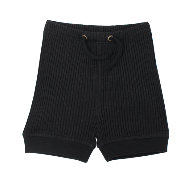 Kids' Ribbed Bike Short