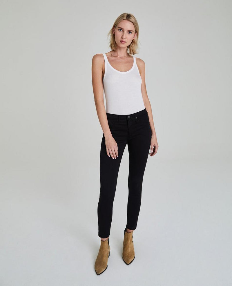 AG Jeans - The Legging Ankle - Black Denim - Black Jeans - Women's Clothing Store - Ladies Boutique - O KOO RAN - Big Bear Lake California