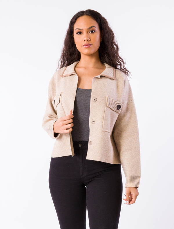 Kerisma Soho Jacket - Fall Jacket - Fall Coat - Women's Clothing Store - Ladies Boutique - O KOO RAN - Big Bear Lake California