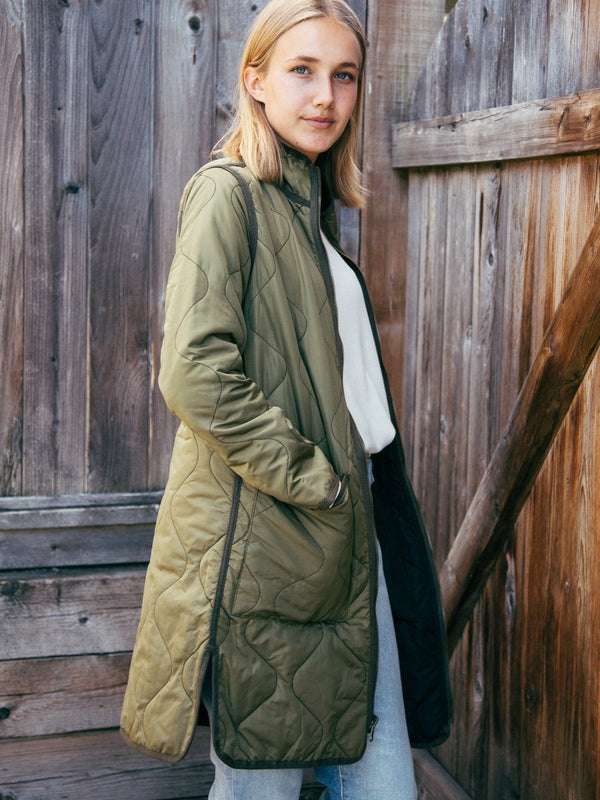 Thread & Supply Nixie Reversible Jacket - Women's Outerwear - Fall Jacket - Fall Coat - Women's Clothing Store - Ladies Boutique - O KOO RAN - Big Bear Lake California