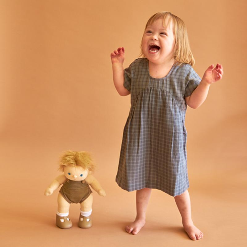 Olli Ella Dinkum Doll - Poppet - Baby Doll - Doll - Infant Toy - Organic Cotton - Children's Boutique - Baby Clothing Store - Baby Store - Camp Crib - Big Bear Lake California