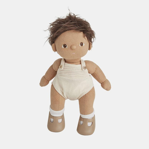 Olli Ella Dinkum Doll - Sprout - Baby Doll - Doll - Infant Toy - Organic Cotton - Children's Boutique - Baby Clothing Store - Baby Store - Camp Crib - Big Bear Lake California