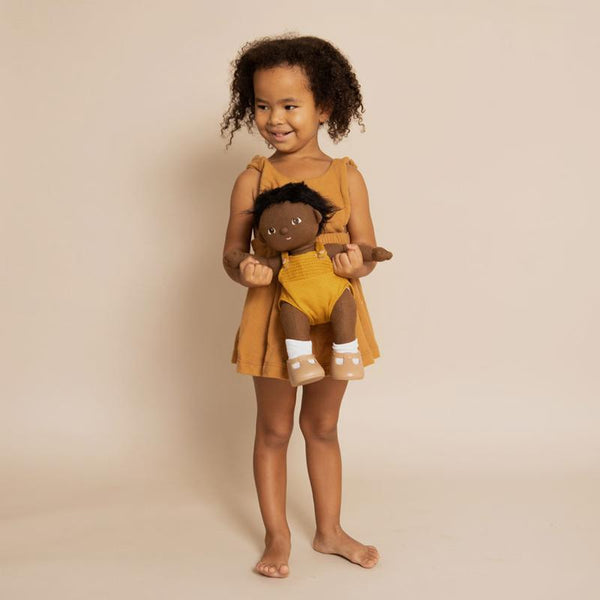 Olli Ella Dinkum Doll - Tiny - Baby Doll - Doll - Infant Toy - Organic Cotton - Children's Boutique - Baby Clothing Store - Baby Store - Camp Crib - Big Bear Lake California