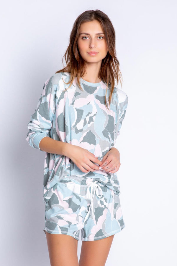 Camo Bloom Long Sleeve