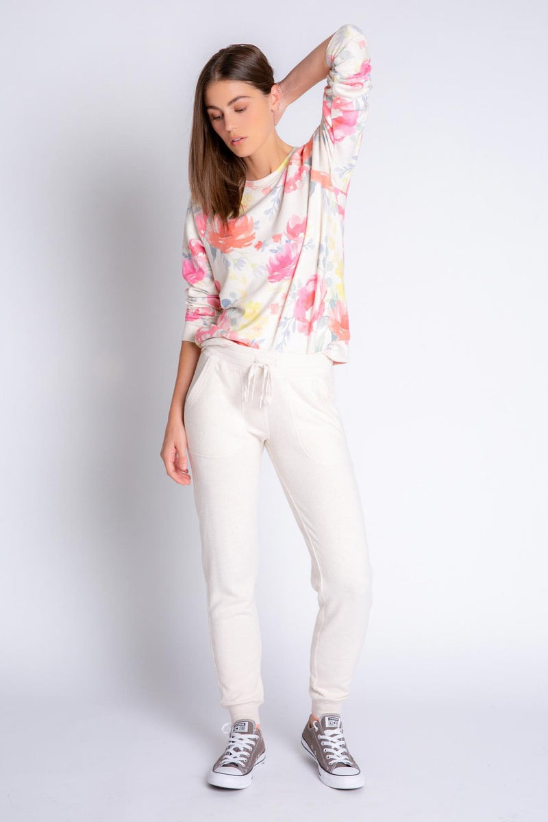 Happy Blooms Banded Pant
