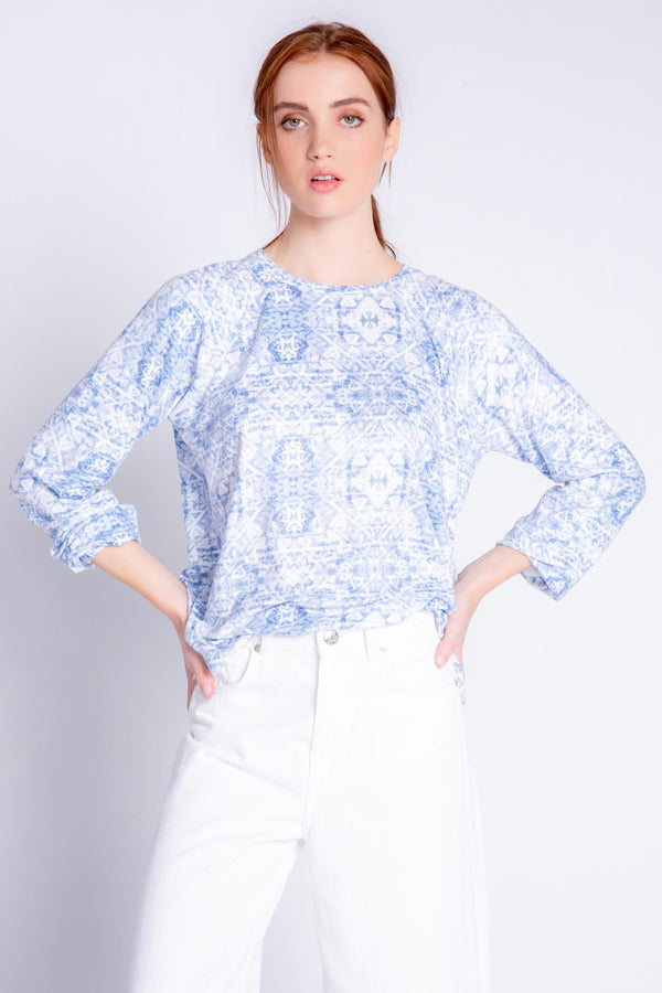 Boho Batik Long Sleeve