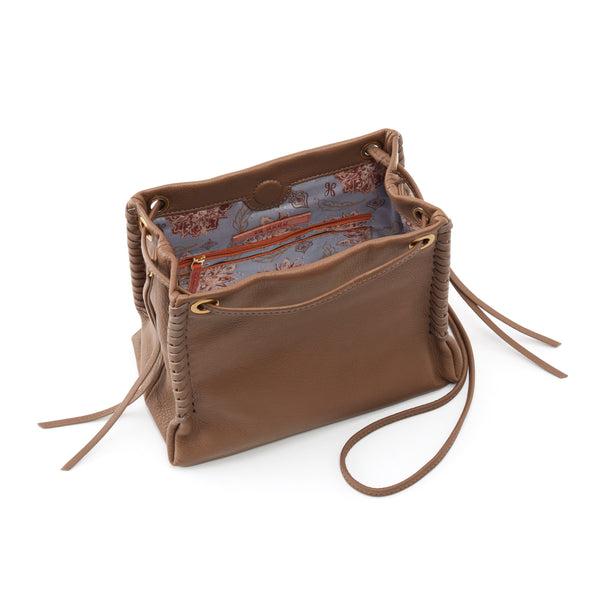 Hobo Bolero Crossbody - Leather Purse - Leather Bag - Women's Clothing Store - Women's Accessories - Ladies Boutique - O KOO RAN - Big Bear Lake California