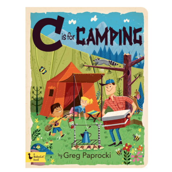 C is for Camping - Children's Book - Children's Clothing Store - Baby Toys - Toddler Store - Baby Clothing Store - Camp Crib - Big Bear Lake California - Big Bear