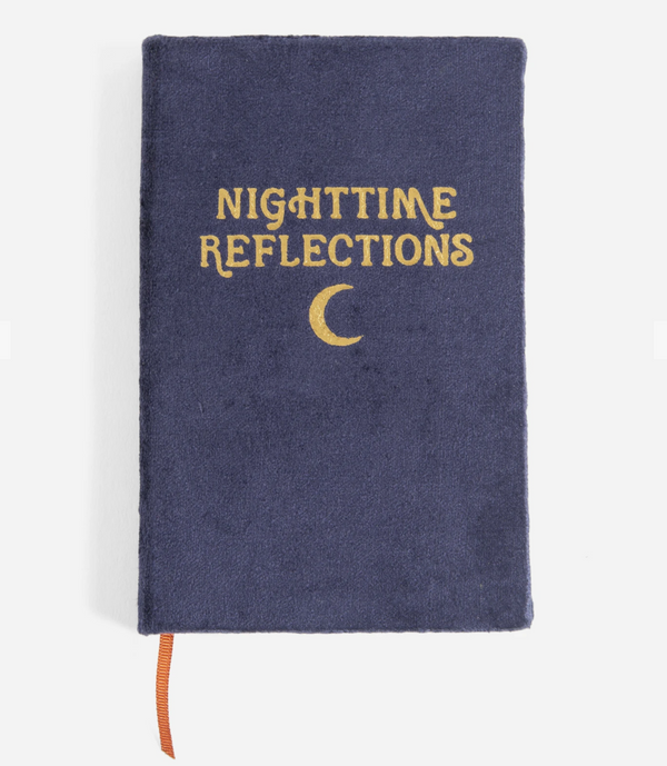 Printfresh Nighttime Reflections Journal - Guided Journal - Prompted Journal - Journal - Notebook - Women's Clothing Store - Ladies Boutique - O KOO RAN - Big Bear Lake California